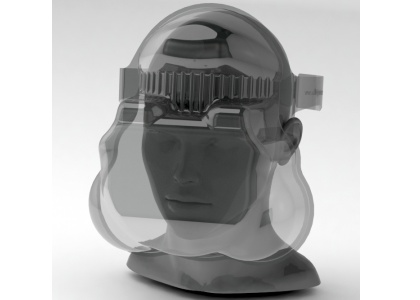 Kingsmoor Packaging supports NHS frontline with one-piece PPE visor