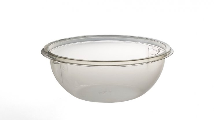 Large Salad Bowl with Fork